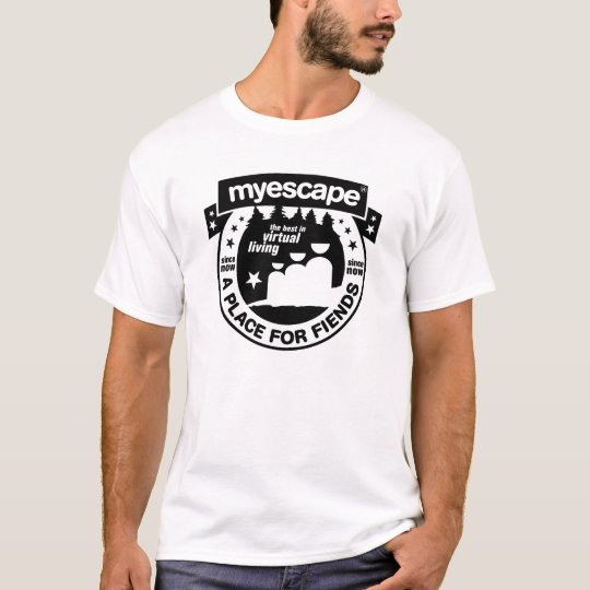 MyEscape, A Place For Virtual Living T-Shirt