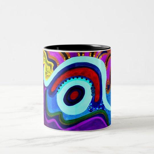 MyEye Two-Tone Coffee Mug