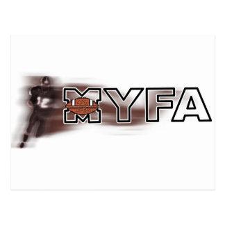 MYFA POSTCARD