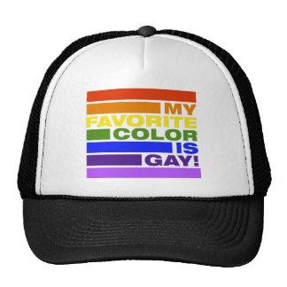 """MyFavoriteColorisGAY"" Trucker Hat"