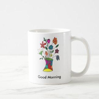 MyFlowers, buena mañana Taza
