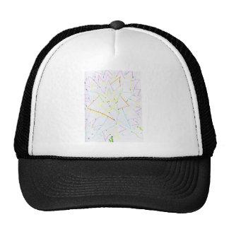 myfractalflower trucker hat