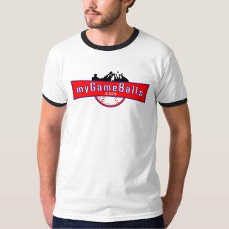 MyGameBalls.com Ringer T-shirt
