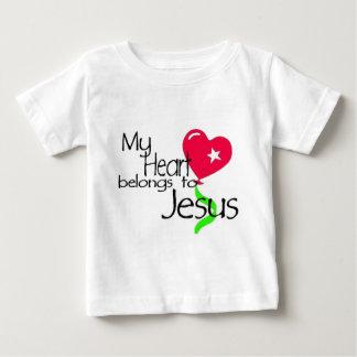 MyHeartbelongstoJesus1a Baby T-Shirt