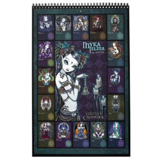 Myka Jelina Art Calendar 2010-2011
