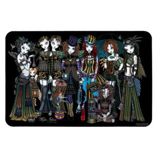 Myka Jelina Art Steampunk Tribal Fairies Magnet