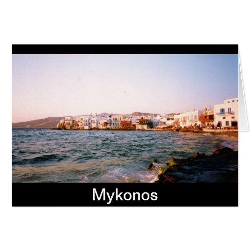 Mykonos Card
