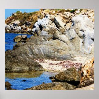 Mykonos, Grecia, islas griegas Poster