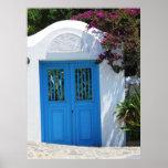Mykonos, Grecia, islas griegas, poster