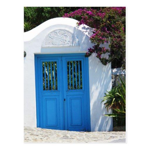 Mykonos, Grecia Tarjeta Postal