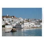 Mykonos Greece Card