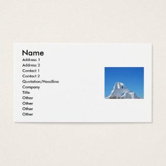 Mykonos, Greece, CHURCH,  Business Cards