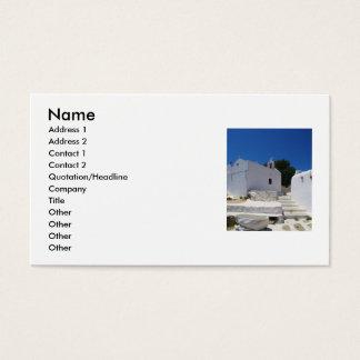 Mykonos, Greece, Greek islands, Business Cards