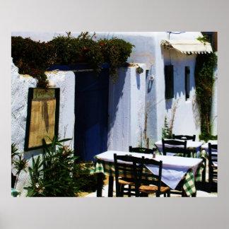 Mykonos, Greece, Greek islands Poster