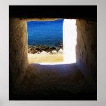 Mykonos, Greece, Greek islands, Poster