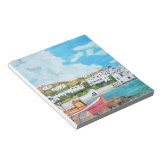 Mykonos, Greece Painting - Notepad
