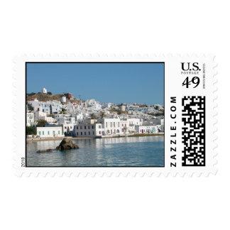 Mykonos Greece Stamp