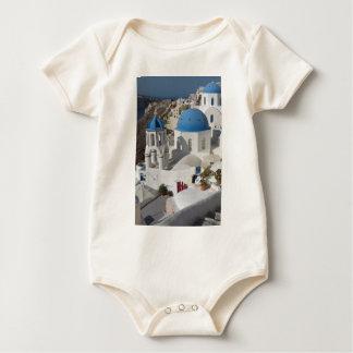Mykonos Greece Travel Baby Bodysuit