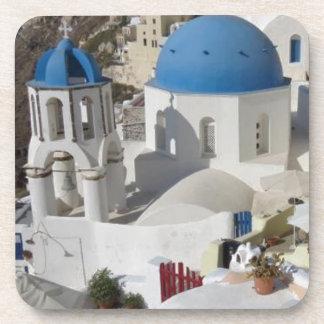 Mykonos Greece Travel Beverage Coaster