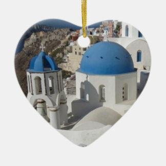 Mykonos Greece Travel Ceramic Ornament