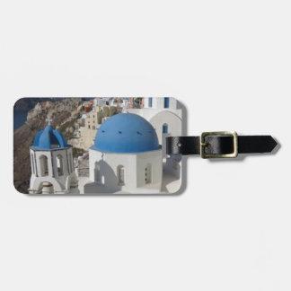 Mykonos Greece Travel Luggage Tag
