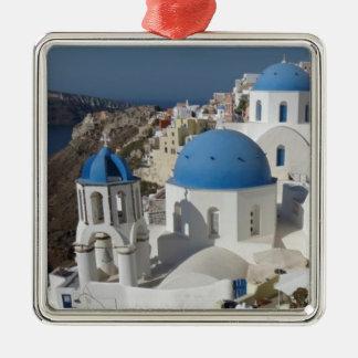 Mykonos Greece Travel Metal Ornament