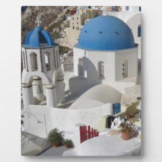 Mykonos Greece Travel Plaque