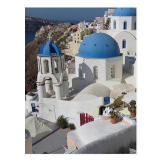 Mykonos Greece Travel Postcard