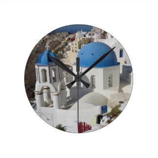 Mykonos Greece Travel Round Clock