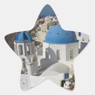Mykonos Greece Travel Star Sticker