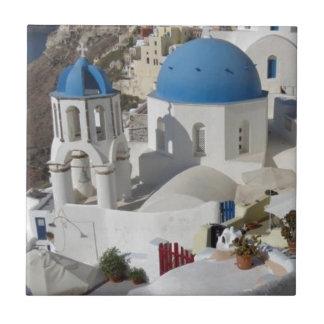 Mykonos Greece Travel Tile