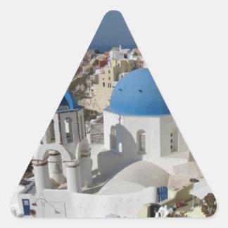 Mykonos Greece Travel Triangle Sticker