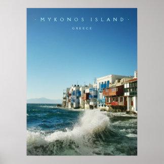 Mykonos:: Poca Venecia - poster