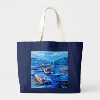 Mykonos - tote bolsa de tela grande