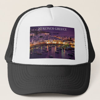 mykonos trucker hat