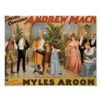 Myles Aroon, 'Andrew Mack', I'm Your's till Death Posters