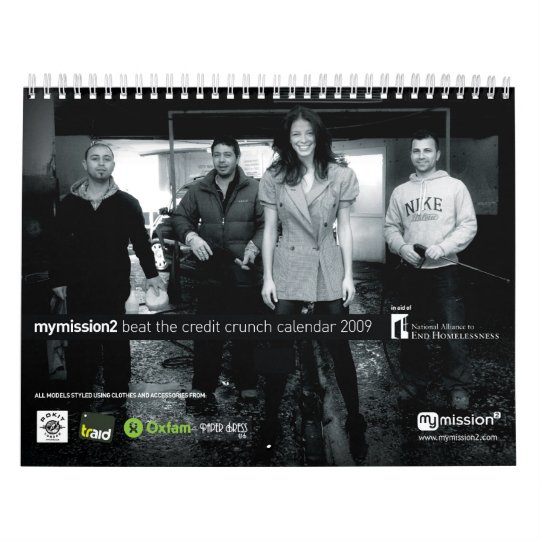 mymission2 Beat The Credit Crunch Calendar 2009