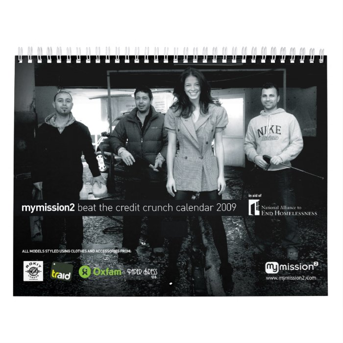 mymission2 Beat The Credit Crunch Calendar 2009