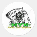 myn3.png classic round sticker