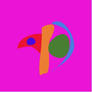 Myna colorido escultura fotografica