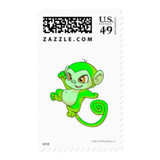 Mynci Glowing Postage Stamps