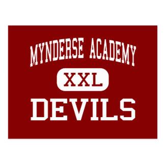 Mynderse Academy - Devils - High - Seneca Falls Postcard
