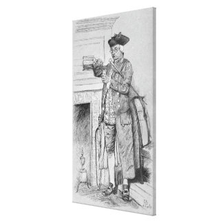 Mynheer's Morning Horn Canvas Print