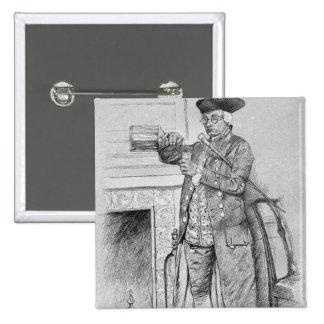 Mynheer's Morning Horn Pinback Button