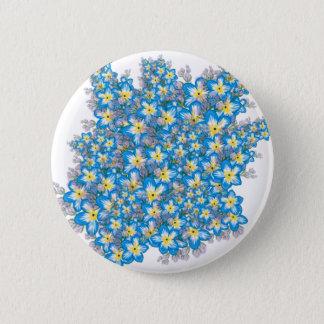 MYOSOTIS forget-me-nots art Pinback Button