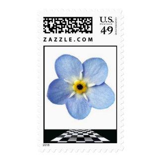myosotis - mosaic pavement postage stamps