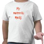 ¡MyParentsRock! Camisetas