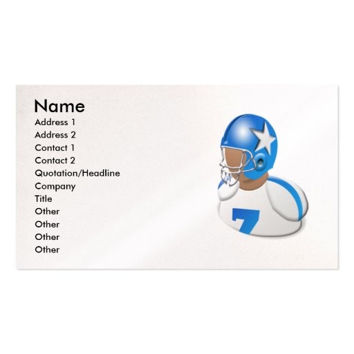 mypc_256, Name, Address 1, Address 2, Contact 1... Double-Sided Standard Business Cards (Pack Of 100)