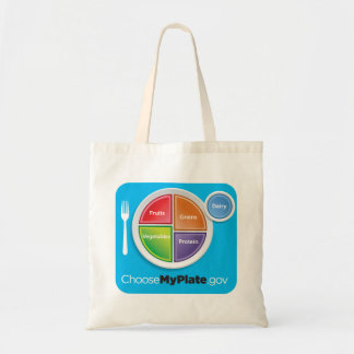MyPlate Grocery Bag - Blue