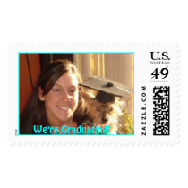 mypuppy, We're Graduating! Postage